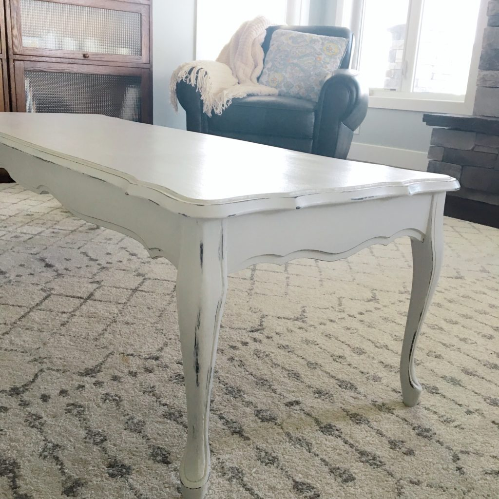Chalk Paint Coffee Table Makeover Valley Birch