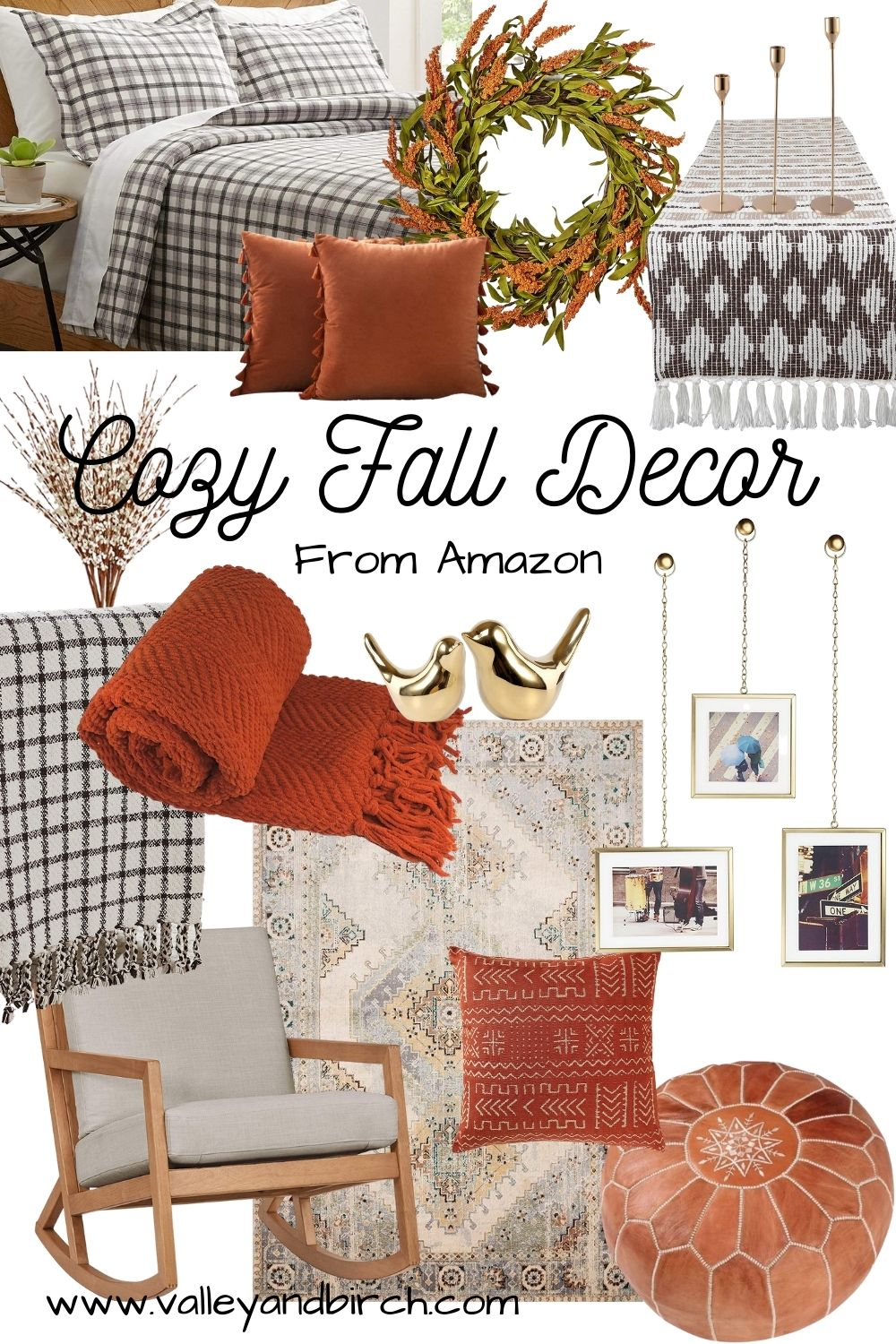 Fall Decor From Amazon Valley Birch